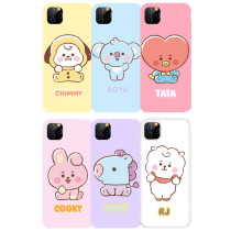 Kpop BTS Phone Case Bangtan Boys Cartoon Protective Cover for iphone11/XS Hard Shell CHIMMY COOKY KOYA TATA