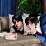 Kpop BTS Pillow Case Bangtan Boys Pillow 3D Digital Printing Sofa Cushion Single Pillow