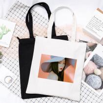 Kpop Red Velvet Canvas Bag Mini Album Monster Canvas Bag Casual Portable Storage Shoulder Bag