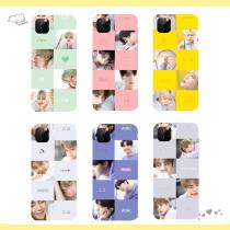 Kpop BTS Phone Case Bangtan Boys Mobile Phone Shell Suitable for iphone XS/XR/11 Pro Anti-fall Hard Shell V SUGA JIN JIMIN JUNGKOOK RAP MONSTER