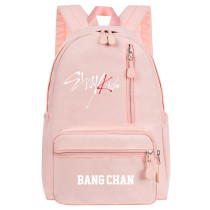 Kpop StrayKids Backpack School Bag Backpack Casual Travel Bag Canvas Bag Large Capacity BANG CHAN HYUNJIN MINHO