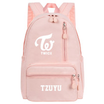 KpopTWICE Backpack School Bag Shoulder Backpack Leisure Travel Bag Canvas Bag DAHYUN JIHYO MOMO MINA