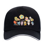 Kpop BTS Hat Bangtan Boys Flower Series Hat Baseball Cap Peak Cap Sun Hat CHIMMY COOKY KOYA TATA
