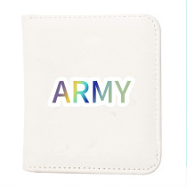 Kpop BTS Wallet Bangtan Boys Return Map of the Soul Wallet Student Coin Purse PU Card Bag Card Case