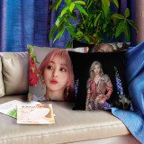 Kpop TWICE Pillow Case Return New Album MORE&MORE Photo Pillow 3D Digital Printing Sofa Cushion