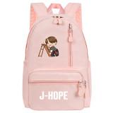 Kpop Bangtan Boys Backpack School Bag RUN BTS School Bag Backpack Travel Bag V SUGA JIN JIMIN