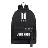 Kpop BTS Backpack Bangtan Boys School Bag Backpack Rucksack Large Capacity V SUGA JUNGKOOK JIMIN