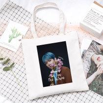 Kpop SuperM Canvas Bag Shoulder Bag Canvas Bag Handbag Storage Bag LUCAS KAI BAEKHYUN MARK TAEMIN TAEYONG TEN