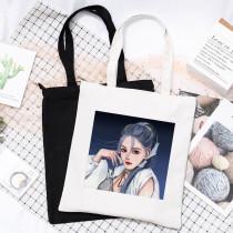 Kpop BLACKPINK Canvas Bag How You Like That Canvas Bag Handbag Storage Bag Shoulder Bag