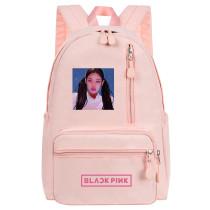Kpop BLACKPINK Backpack School Bag Backpack Canvas Bag Casual Bag JENNIE JISOO LISA ROSE