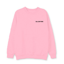 Kpop BLACKPINK Round Neck Sweater Pullover Jacket Spring and Autumn Thin
