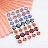 Kpop BTS Sticker Bangtan Boys FLOWER Handbook Sticker Cartoon Cute Mark Sticker Mobile Sticker Sticker