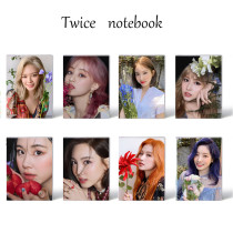 Kpop TWICE Notebook Come Back New Album MORE & MORE Photo Notepad Notepad Small notebook Notebook