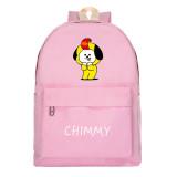 Kpop BTS Backpack Bangtan Boys School Bag Universtar Series Backpack Canvas Bag