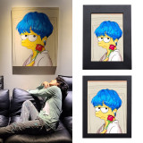 Kpop BTS Photo Frame Bangtan Boys V Photo Frame 5 inch 8 inch Bedroom Living Room Decoration