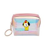 Kpop BTS Wallet Bangtan Boys Universtar Series Wallet Laser Storage Bag Student Card Case Pencil Case