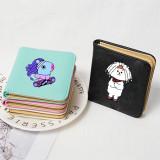 Kpop BTS Wallet Bangtan Boys Universtar Series Wallet Card Case Student Coin Case Chimmy Cooky KOYA TATA
