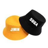 Kpop BTS Bangtan Boys Hat Fisherman Hat Sun Hat Couple Hat Fisherman Hat V SUGA JIN JIMIN