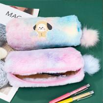 Kpop BTS Pencil Case Bangtan Boys Stationery Bag Gradient Color Storage Bag CHIMMY COOKY TATA