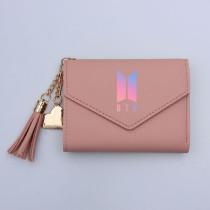 Kpop BTS Wallet Bangtan Boys Card Case Card Bag Short Folding Coin Purse V SUGA JIN JIMIN JUNG KOOK
