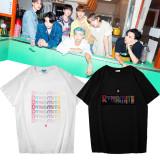 Kpop BTS T-shirt Bangtan Boys New Album Dynamite Short Sleeve T-shirt