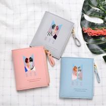 Kpop BTS Wallet Bangtan Boys Wallet Short Wallet Portable Storage Bag Coin Purse V SUGA JIN JIMIN