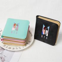 Kpop BTS Wallet Bangtan Boys Wallet Short Wallet Wallet Wallet Change Card Holder Storage Bag