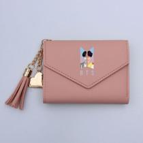 Kpop BTS Wallet Bangtan Boys Card Bag Card Bag Short Folding Coin Purse Tassel Storage Bag