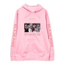 Kpop BLACKPINK Sweater New Album How You Like That Hooded Sweater  Sweatshirt LISA ROSE JENNIE JISOO