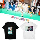 Kpop BTS T-shirt Bangtan Boys New Album Dynamite Short Sleeve T-shirt V SUGA JIN JIMIN