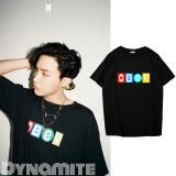 Kpop BTS T-shirt Bangtan Boys J-hope New Song DYNAMITE Same T-shirt Short Sleeve