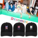 Kpop BTS Hat Bangtan Boys Album Dynamite New Baseball Cap Cap Sun Hat V SUGA JIMIN J-HOPE