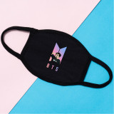 Kpop BTS Mask Bangtan Boys Starry Sky Cotton Face Mask Three-layer Windproof, Warmth and Thickening Mask