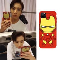 Kpop BTS Phone Case Bangtan Boys JUNG KOOK Iron Man Phone Case Suitable for Apple 11/8/7/6S