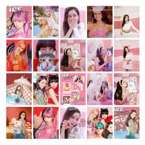 Kpop Blackpink LOMO Card New Song Ice Cream LOMO Card Photo Postcard JENNIE JISOO LISA ROSE