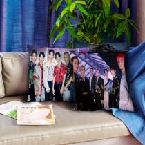 Kpop SuperM Pillow New Album Digital Printing 3D Pillow Cushion Single Pillow BAEKHYUN  KAI  LUCAS  MARK TEN  TAEYONG