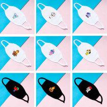 Kpop BTS Mask Bangtan Boys Universtar Series Mask Double Cotton Face Mask Dustproof