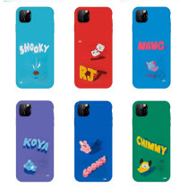 Kpop BTS Phone Case Bangtan Boys Mobile Phone Case Suitable for Apple iphone11XSXR Anti-drop Hard Shell Protective Cover