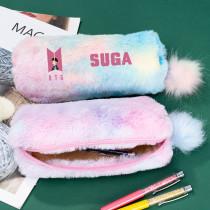 Kpop BTS Pencil Case Bangtan Boys New Album Dynamite Pencil Case Storage Bag Stationery Bag V SUGA JIN JIMIN