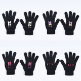 Kpop BTS Gloves Bangtan Boys New Album Dynamite Knitted Wool Warm Gloves V SUGA JIN JIMIN