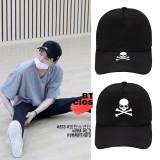 Kpop BTS Hat Bangtan Boys SUGA J-hope Baseball Cap Peak Cap Sun Hat