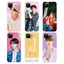 Kpop BTS Phone Case Bangtan Boys Album Dynamite Phone Case for Apple iphoneXSXR11 Hard Shell