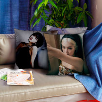Kpop BLACKPINK Pillow Case Summer Seoul Pictorial Pillow 3D Digital Printing Sofa Cushion Single Pillow