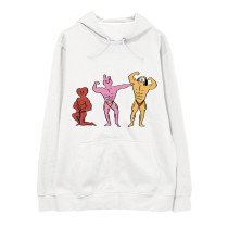 Kpop BTS Sweater Bangtan Boys Iron Man Series Hooded Sweatshirt Sweatshirt Hoodie