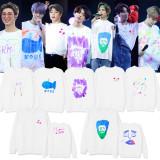 Kpop BTS Sweater Bangtan Boys Round Neck Sweatshirt 5TH MUSTER Concert Sweatshirt V SUGA JIN JIMIN