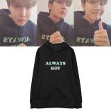 Kpop BTS Sweater Bangtan Boys Hoodie Long Sleeve Hooded sweater J-hope
