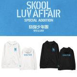 Kpop BTS Sweater Bangtan Boys Hooded Sweatshirt Korean Style Loose Pullover Hoodie Sweatshirt