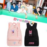 Kpop BTS Backpack Bangtan Boys School Bag New Song Dynamite Canvas Bag Wild Casual Backpack