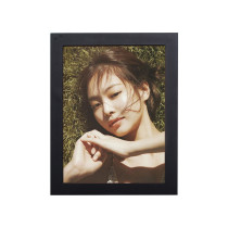 Kpop Blackpink Photo Frame Photo Wall Card Bedroom Living Room Solid Wood Decorative Photo Frame 5 inch 8 inch JENNIE LISA ROSE