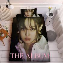 Kpop BLACKPINK 3Pc/Set Sheet New Album The Album Sheet 3D Digital Printing Quilt Cover Bedding